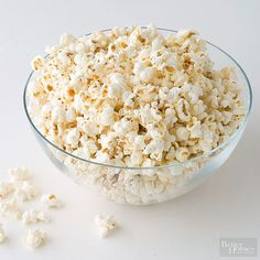Try these seven savory and sweet flavors for a new twist on traditional popcorn.