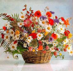 """DIY Diamond Painting""""Colorful flowers and flower basket""""Diamond Embroidery Cross Stitch Rhinestone Mosaic Painting Home Decor Acrylic Painting Canvas, Diy Painting, Colorful Flowers, Beautiful Flowers, Mosaic Crosses, Mosaic Flowers, Embroidery Flowers Pattern, Paint By Number Kits, Cross Paintings"""