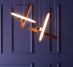 Led cross 40 mikko karkkainen suspension pendant light tunto ledcross noyer design signed 46220 product Objet D'art, Decoration, Led, Objects, Lighting, Interior, Home Decor, Drown, Solid Wood