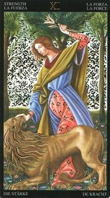 Customer Image Gallery for Golden Botticelli Tarot (English, Spanish, French, German and Italian Edition)
