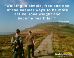 Walking - the free and simple exercise that we should all be doing more! #Healthyliving
