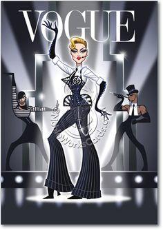 Mdna TOUR, Madonna, Vogue, Strike a Pose
