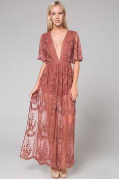 a99ccbed26f2 Bardot Lace Collection. Lace Maxi RomperRomper ...