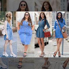 Leia aqui!: http://imaginariodamulher.com.br/look/?go=2irJ6e8  Como Usar Vestido Jeans. Inspire-se e Encontre com Desconto! #achadinhos #modafeminina #modafashion #tendencia #modaonline #moda #instamoda #lookfashion #blogdemoda #imaginariodamulher