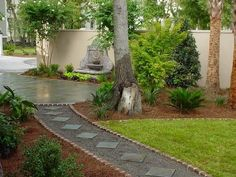 Walkway and Path Carlile Landscaping Summerville, SC
