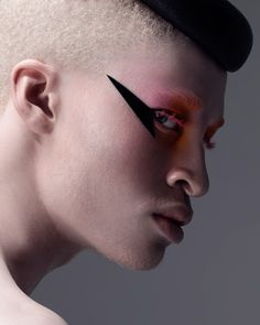 Photo taken by Shaun Ross - Shaun Ross, Runway Makeup, Beauty Makeup, Hair Makeup, Beauty Art, Makeup Inspo, Makeup Inspiration, Dance Makeup, Bare Beauty
