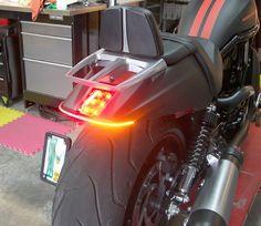 LED Motorcycle Lights - Flexible Arrays #LED lights
