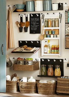 8 trucs pour organiser une petite #cuisine #deco: