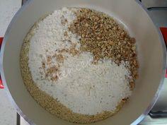 Pekmezli Topak Helva tarifi Cooking Recipes, Healthy Recipes, Healthy Food, Diy And Crafts, Grains, Food And Drink, Rice, Sweets, Sugar