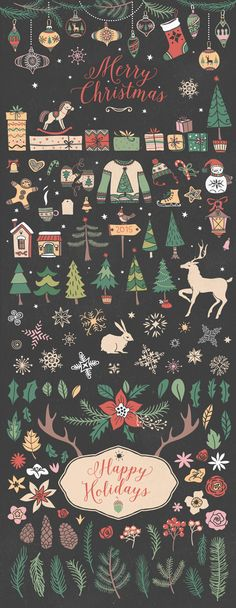 Christmas collection by kite-kit on @creativemarket