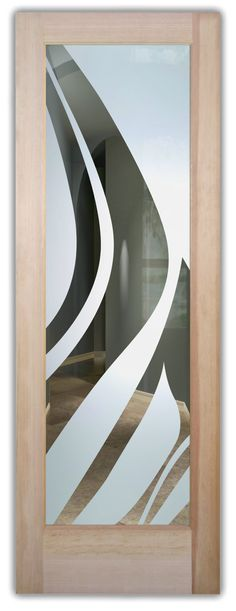 Shop our glass entry doors. Customize your glass doors with a wide variety of quality designs to fit any decor. Start exploring your glass doors options now! Exterior Doors With Glass, Entry Doors With Glass, Glass Doors, Etched Glass Door, Glass Etching, Art Deco Borders, Cast Glass, Lake Arrowhead, Winter Trees