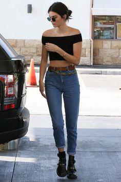 5 Ideias imperdíveis para looks com jeans de cós alto