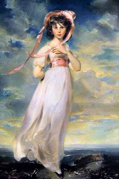 Sir Thomas Lawrence devotes himself to portraits during his whole life, except for 2 historic paintings. At 20, the artist had already been commended to portrait queen Charlotte and the princess Am...