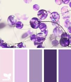 Beaded purple tones from Design Seed. Repinned by pcPolyzine.com.