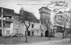 Carte de Villeneuve d Aveyron
