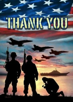Thank you and God Bless our Military. Freedom isn't Free!!