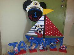 Mickey Mouse Sailor Nautical foam