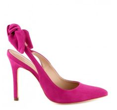 Jolies chaussures fushia et petit noeud