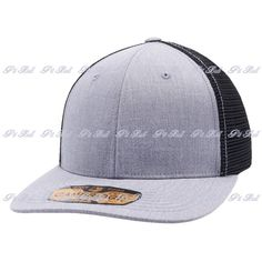 Shop for Wholesale Trucker Hats Wholesale: Heather Grey and Black Pit Bull Cambridge Mesh Stretch Trucker Cap Hat Flex. Easy Custom Embroidery and Wholesale Bulk Order. Black Pit, Heather Black, Custom Embroidery, Dad Hats, Mesh Fabric, Cambridge, Stretches, Pitbulls, Baseball Hats