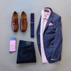 Sunday's Best with a touch of pink. When I put this combo together I was happy with the result.  What do you think of this look?  Knit Tie: @otaa.australia  Pocket Square: @martindingman1990  Shirt: @combatgent  Socks: @thesouthernscholar  Double Monk Shoes: @martindingman1990  Denim: @34heritage  Tie Bar: @tiesdotcom  Blazer: @calvinklein >>>>>>>>>>>>>>>>>>>>>>>>>>>>>>>>>>>>>>>>>>>>>>>>>>>>>>>>>>>>>>>>>>>>>>>>>>>>>>>>>>>>>>>>>>>>>>>>>>>>>>>>>>>>>>