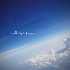 I will try to FIX you.....