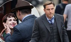 David Walliams & Jessica Raine shoot Tommy and Tuppence in London