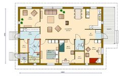 My House, Floor Plans, Cottage, Flooring, How To Plan, Interior, Projects, Home Decor, Dreams