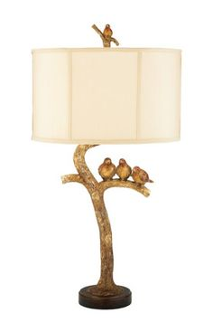 Sterling Industries Table Lamps Three Bird Light 93-052 Table Lamp In Brown Brown at Rugs USA
