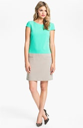 @$118 a bargain..Eliza J Colorblocked Shift Dress available at Nordstrom.