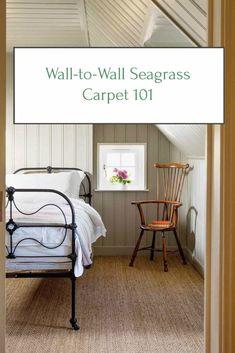 ORC Week 4: Wall-to-Wall Seagrass Carpet 101 » Home Glow Design Carpet Diy, White Carpet, Best Carpet, Wall Carpet, Patterned Carpet, Bedroom Carpet, Living Room Carpet, Bedroom Wall, Rugs On Carpet