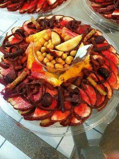 Rosca de frutas