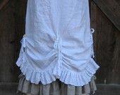 bonnie harris skirt: cinch front for P-A-B skirt