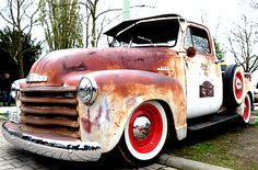 Rusty Chevy Truck