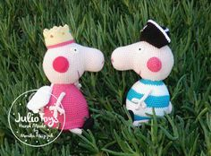 Peppa Pig Princess - Julio Toys | Crochet patterns | Amigurumi