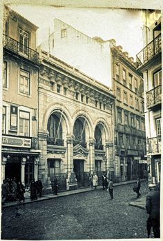 Lisboa de Antigamente: O Club Palace e a Associação Comercial de Lisboa