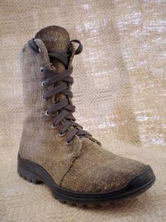 mens handmade hemp shoes