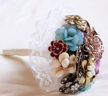 Alternative Bouquets:  Brooches