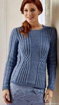 Cable Knitting Patterns, Shawl Patterns, Knitting Charts, Lace Knitting, Knitting Designs, Crochet Sweater Design, Knit Crochet, Cardigan Pattern, Mode Outfits