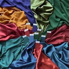 These are the ten best colours for Warm Autumn clients. They are all warm and rich and will harmonise with your colouring. #mycolourstylist #colouranalysis #coloranalysis #pcas #colourpalette #trueautumn #warmautumn #vibrantautumn Color Swatches, Fabric Swatches, Deep Autumn Color Palette, Dark Summer, Fall Outfits, Cute Outfits, Color Blocking Outfits, Seasonal Color Analysis, Color Me Beautiful