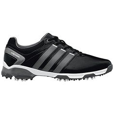 adidas Men's Adipower TR Golf Shoe, Core Black/Iron Metallic/White, 10.5 M US - http://golf.shopping-craze.com/index.php/2016/05/06/adidas-mens-adipower-tr-golf-shoe-core-blackiron-metallicwhite-10-5-m-us/