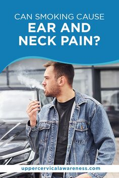How can smoking impact your cervical bones? Let's investigate further in the discussion below. Upper Cervical Chiropractic, Chiropractic Care, Cervical Disc, Neck Bones, Degenerative Disc Disease, Smoking Causes, Sitting Posture, Neck Pain Relief, Withdrawal Symptoms