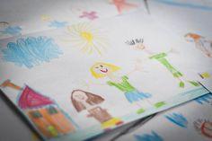 Kresba rodiny patrí medzi často využívané diagnostické metódy psychológov a učiteľov.