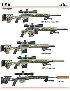 Remington modified sniper rifle