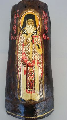 St. Nektarios in Aegina 1 - Άγιος Νεκτάριος ο εν Αιγίνη 1 by Icondimiourgia on Etsy Saints, Etsy, Trending Outfits, Unique Jewelry, Handmade Gifts, Vintage, Top, Kid Craft Gifts, Craft Gifts