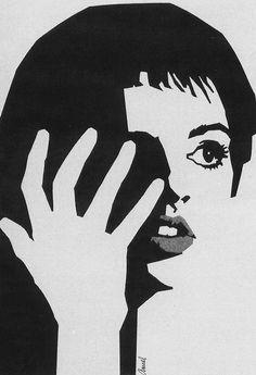 Tell Me That You Lovwe Me, Junie Moon (1970) — Unused poster art by Richard Amsel