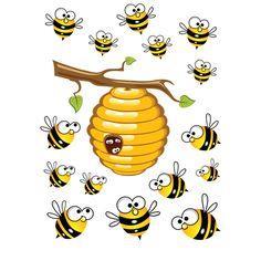 Пчелки на торт