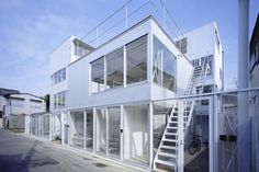 apartment in kamitakada houses nine flats in one complex