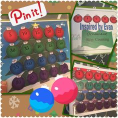 Skip Counting with Ornaments: Inspired by Evan Autism Resources.