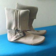 Boots Gently used khaki colored boots ALDO Shoes