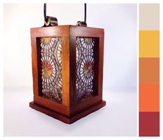 "Stained Glass Lantern - ""Luz del Sol"" by smashglassworks on Etsy https://www.etsy.com/listing/211222875/stained-glass-lantern-luz-del-sol"